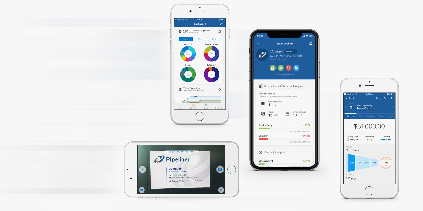 Mobile CRM › Selling On-The-Go!