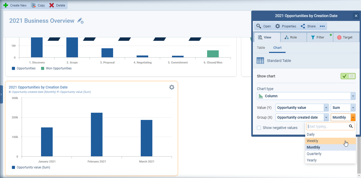Power Panel and profile feature